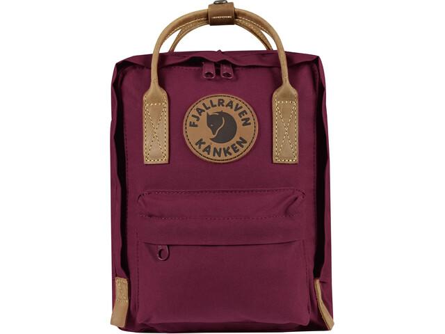 Fjällräven Kånken No.2 Mini Backpack Kids plum